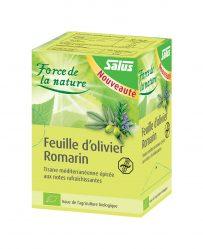 Feuille d'olivier-Romarin